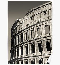 Rome - View of the Colosseum  Poster