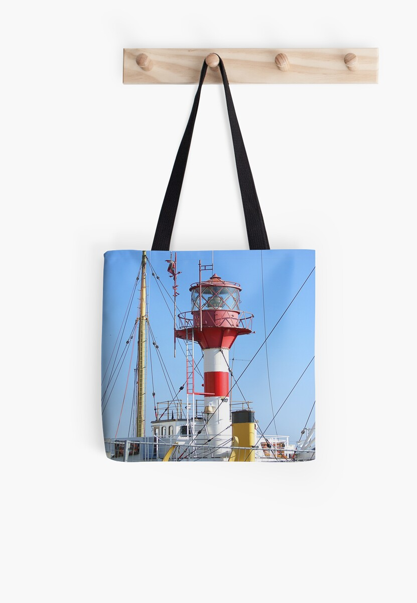 Lighthouse of Westhinder - tote bag by Gilberte