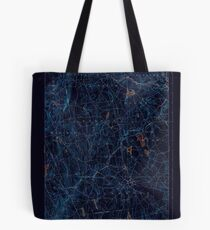 USGS TOPO Map Connecticut CT Gilead 331030 1892 62500 Inverted Tote Bag