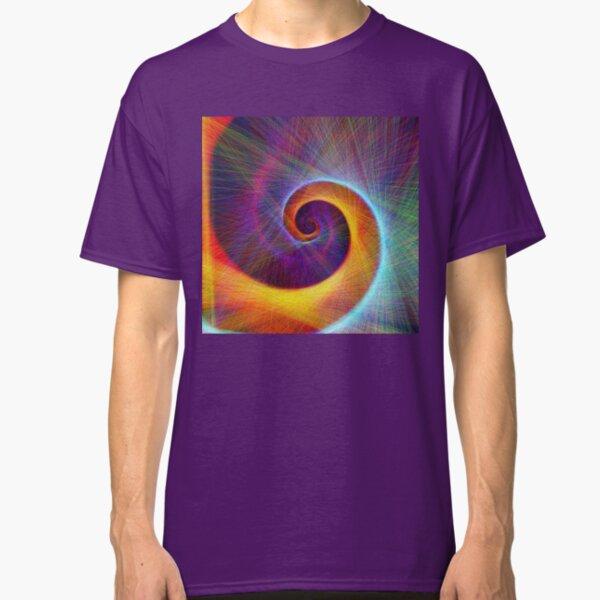 Fibonacci spiral, linify Classic T-Shirt