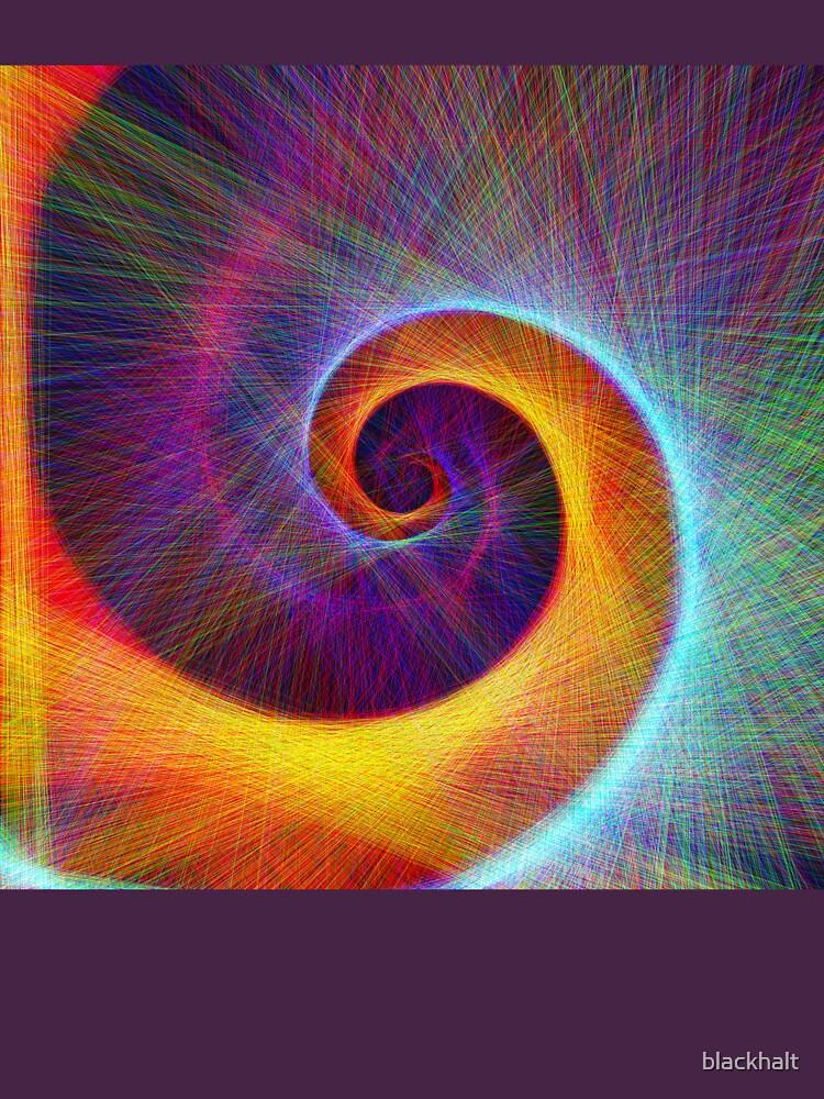 Fibonacci spiral, linify by blackhalt