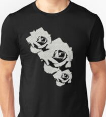 Grey Study of the Orange Rose Unisex T-Shirt