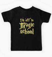 I'm off to MAGIC SCHOOL Kids Tee
