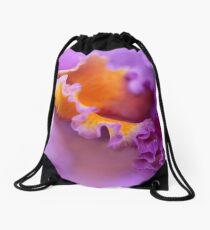 Ruffled Drawstring Bag
