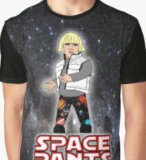 Space Pants Graphic T-Shirt