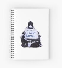 Banksy: Change Spiral Notebook