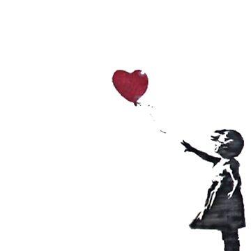 Banksy: Ballon Girl by Blueasaurs
