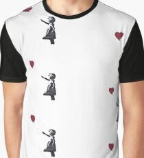 Banksy: Ballon Girl Graphic T-Shirt