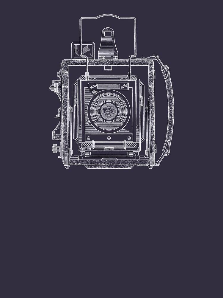 Vintage Photography - Graflex Blueprint von brainsontoast