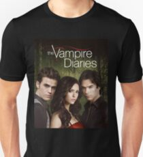 The Vampire Diaries Cover T-Shirt