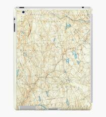USGS TOPO Map Connecticut CT Gilead 331030 1892 62500 iPad Case/Skin