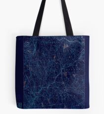 USGS TOPO Map Connecticut CT Gilead 331026 1892 62500 Inverted Tote Bag