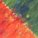 Orange Rot grün by cloude-vigal