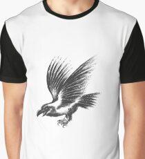 Raven sketch Graphic T-Shirt