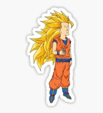 Super Saiyan Boomhauer Sticker