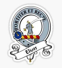 00042 Elliot Clan Tartan  Sticker