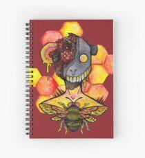 honey bee.  Spiral Notebook