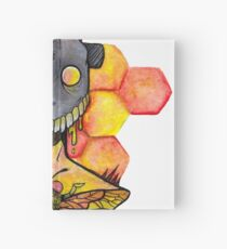 honey bee.  Hardcover Journal