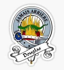 00050 Douglas Clan Tartan  Sticker