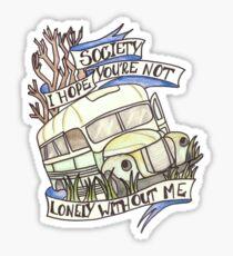 "Into the Wild ""Society"" Sticker"