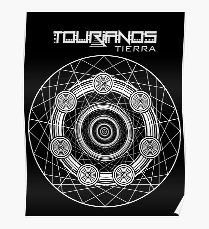 Tourianos Tierra 1 Blanco - Tourians Earth 1 White Poster