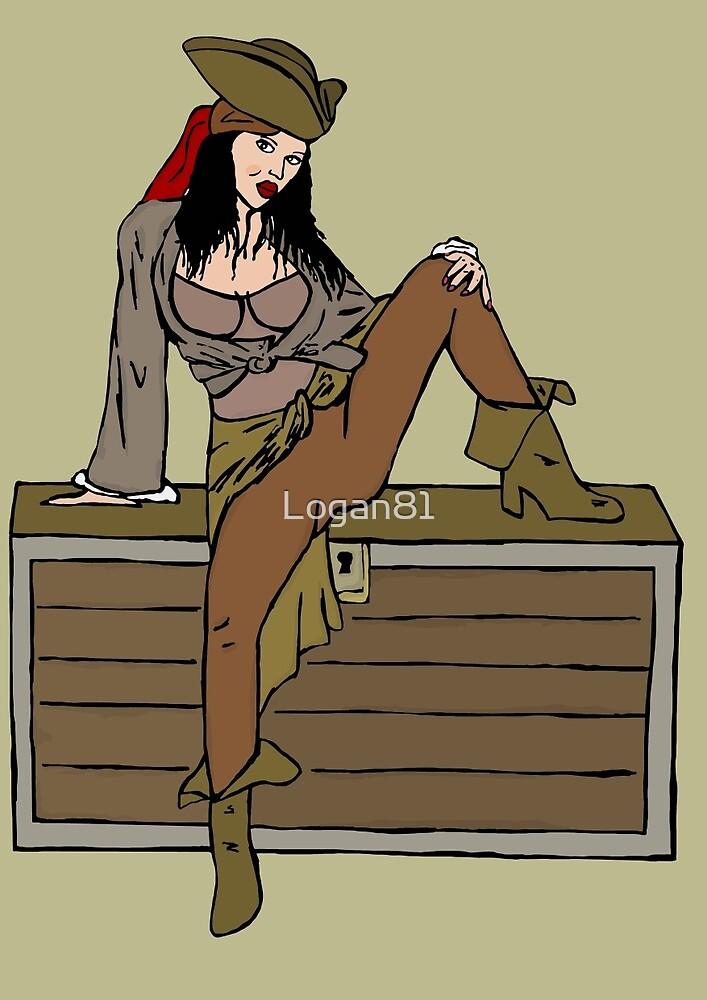 Sexy pirate by Logan81