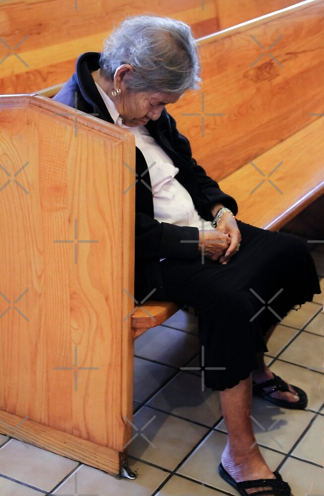 Napping in Church  by Heather Friedman