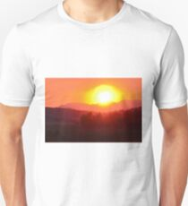 Wildfire Sunset Unisex T-Shirt