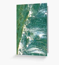 Glass - JUSTART © Greeting Card