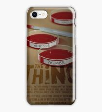 The Thing 1982 horror movie classic iPhone Case/Skin
