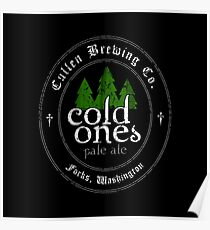 Cullen Brewing Co. - Cold Ones Pale Ale Poster