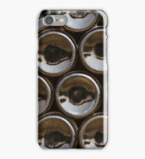 Wine bottles bottoms iPhone Case/Skin