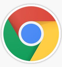 Chrome 2016 Logo Sticker