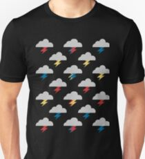 Thunderclouds Unisex T-Shirt