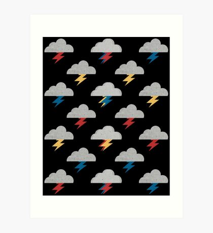 Thunderclouds Art Print
