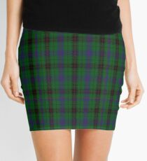 00052 Davidson Clan/Family Tartan  Mini Skirt