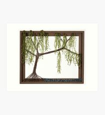 Spring Willow Tree Art Print