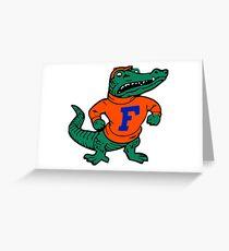Florida Gators sticker Greeting Card