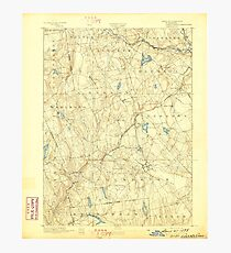 USGS TOPO Map Connecticut CT Gilead 331026 1892 62500 Photographic Print