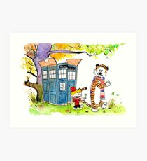 Adventure in Time & Space! Art Print