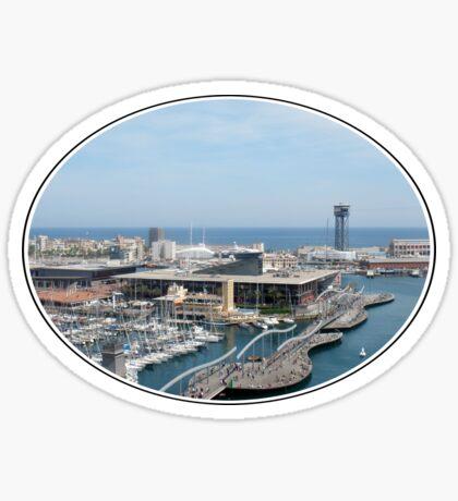 Rambla del Mar Sticker