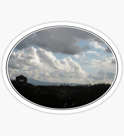 Storm Clouds over the Aventine Sticker