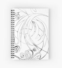 Oniric drawing Spiral Notebook