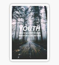 YOUTH - Troye Sivan  Sticker