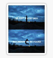 LOST BOY - Troye Sivan  Sticker