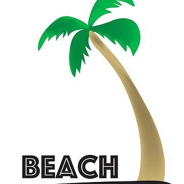 beach palm by raffons