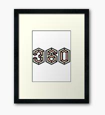 360 Framed Print