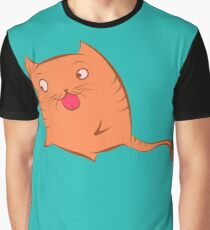 Cat attack Graphic T-Shirt