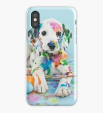 Painted Dalmatian iPhone Case