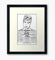 Dan Aykroyd Tattooed Ghostbuster Ray Stantz Framed Print